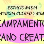CAMPAMENTO URBANO CREATIVO  VERANO'18