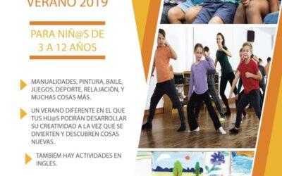 Campamento urbano creativo verano 2019 para niños